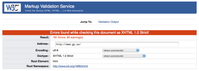 W3C has a good validation service to minimize the amount of incorrect code