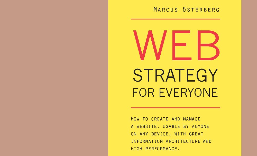 Cover of Web Strategy for Everyone